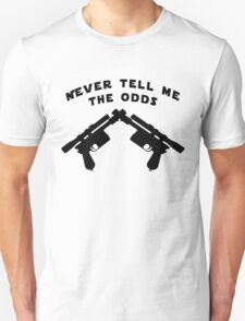 Never Tell Me The Odds (black) T-Shirt