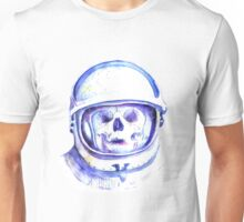 skull in space helmet Unisex T-Shirt