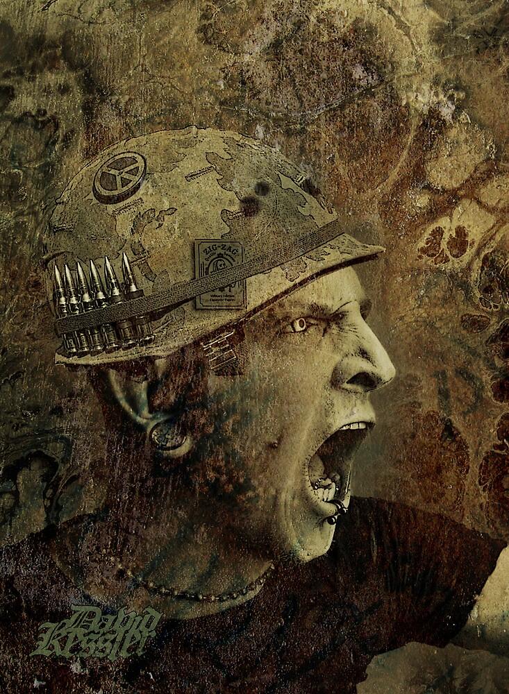 rage against war by David Kessler