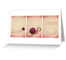More than Kisses Greeting Card