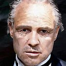 Marlon Brando by James Shepherd