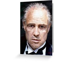 Marlon Brando Greeting Card