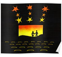 Inside the Small Town Theater Poster