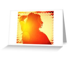 Her Indian Summer Of Love Greeting Card