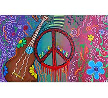 Peace and Love 2 Photographic Print