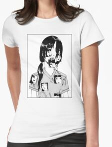 Shintaro Kago Girl Womens Fitted T-Shirt