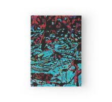 Flora Celeste Tourquoise Leaves Hardcover Journal
