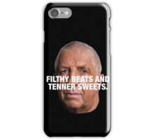 PETE PRICE - FILTHY BEATS AND TENNER SWEETS White iPhone Case/Skin