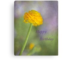 Happy Birthday Viv ~ Canvas Print