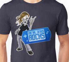 Metal Jesus Portable Unisex T-Shirt
