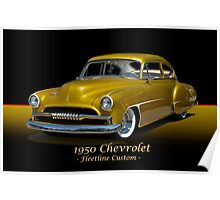 1950 Chevrolet Fleetline Custom w/ ID Poster