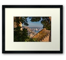 The modern from the ancient Framed Print