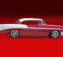 1956 Chevrolet Bel Air w/o ID by DaveKoontz