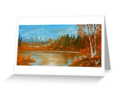 Autumn Landscape 2 Greeting Card