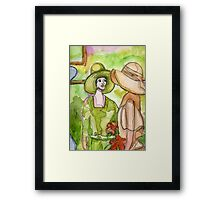 A Different Time Framed Print