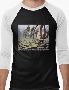 cycling illustration HELL OF THE NORTH retro Paris Roubaix  T-Shirt