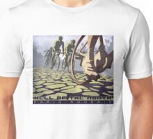 cycling illustration HELL OF THE NORTH retro Paris Roubaix  Unisex T-Shirt