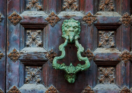 Green Knocker by timgraphics