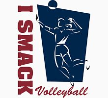 """Volleyball """"I Smack"""" Women's Womens Fitted T-Shirt"""