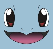 Squirtle Face Kids Clothes