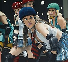 Roller Girls by artofcult