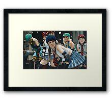 Roller Girls Framed Print