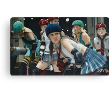 Roller Girls Canvas Print