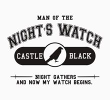 Man of the night's watch Kids Clothes