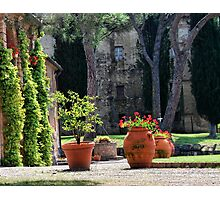 A Tuscan Hideaway Photographic Print