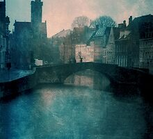 Bruges On A Winters Day by clint hudson