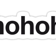 HOHOHO Sticker