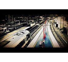 Macclesfield Railway Station Photographic Print
