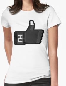 FACEBOOK X GHOSTBUSTERS (GB3) Womens Fitted T-Shirt