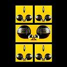 Yellow and Black by Karo / Caroline Evans (Caux-Evans)