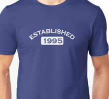 Established 1995 Unisex T-Shirt