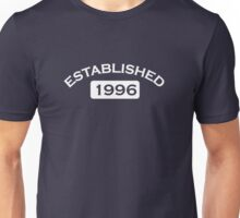 Established 1996 Unisex T-Shirt