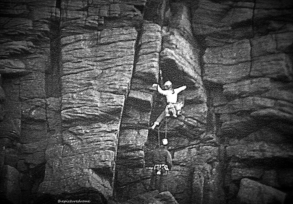 Climber Climbing by thepicturedrome