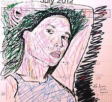 Calendar Girl 07 by alecmorrison