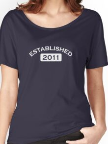 Established 2011 Women's Relaxed Fit T-Shirt