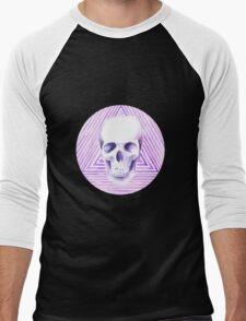skull watercolor circle T-Shirt