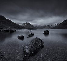 Moody Winter on Wastwater by Brian Kerr