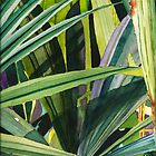 Tropical Greens by Sally Griffin