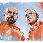 Walt & Jesse by tsantiago