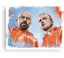 Walt & Jesse Canvas Print
