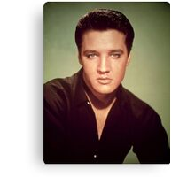 Elvis Presley (photo) Elvis Aaron Presley (1935-77), American singer and actor; also known as 'The King' Canvas Print