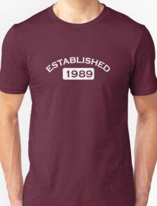 Established 1989 T-Shirt