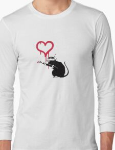 Banksy Art Long Sleeve T-Shirt