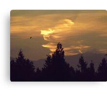 Mother Nature's Good Morning  Canvas Print