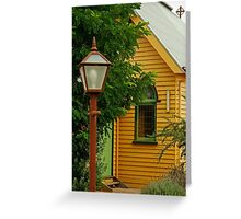 Cobin Farm Church Greeting Card
