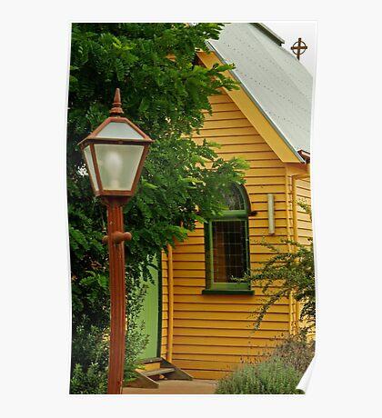 Cobin Farm Church Poster